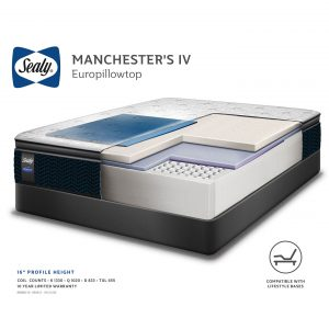 Sealy - Manchesters IV Mattress